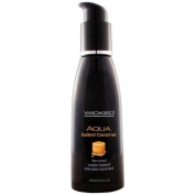 Wicked Sensual Care Wicked Aqua Flavoured Water Based Lubricant, Salted Caramel, 120ml