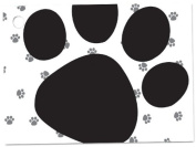 6 Pack Pooch Dog Animal Paw Print Gift Enclosure Card Cards