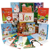 Christmas-Print Shirt Gift Boxes, 3-ct. Packs