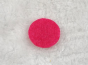 800pcs Felt 25mm Circle Appliques - Mix Pick Colour