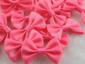 50pcs Mini Grosgrain Ribbon Bow Flowers Wedding Decoration Appliques-u Pick