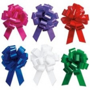 Holiday Gift Wrapping - 13cm Festive Pull Bows - Set of 12