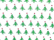 Simple Green Christmas Trees Cellophane Roll 80cm x 30m Baskets Gifts