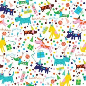 'Barkday' Birthday Gift Wrapping Paper Roll 60cm X 4.9m