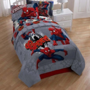 "Marvel Ultimate Spiderman ""Go Spidey!"" Twin Size Comforter"