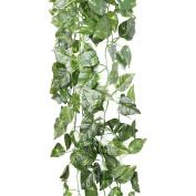 90CM Artificial Fake Faux Scindapsus Leaf Vine Plant Garland Wedding new