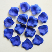 1000pc Royal Blue Wedding Table Decoration Silk Rose Petals Flowers Confetti 5cm Supplies Wholesale