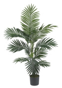 Nearly Natural 5295 Kentia Palm Silk Tree, 1.2m, Green