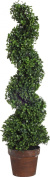 A & B Home Artificial Boxwood Spiral Tree Plant, 90cm