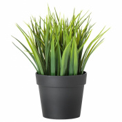 Ikea Artificial Potted Plant Wheat Grass 23cm Lifelike Nature Houseplant Decoration Fejka