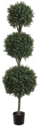 Allstate Floral & Craft Triple Ball Boxwood Topiary Plant, 1.8m