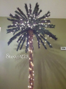 2.1m Lighted Palm Tree - 300 Lights 78 Tips