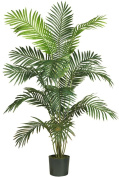 Nearly Natural 5260 Paradise Artificial Palm Tree, 1.8m, Green