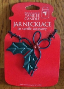 Yankee Candle Holly Berry Jar Necklace