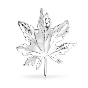 Bling Jewellery 925 Silver Kate Middleton Canada Day Maple Leaf Pin Brooch