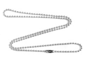 2mm Fine Sterling Silver Ball Chain Necklace