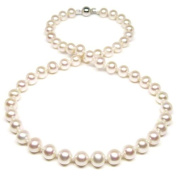 HinsonGayle AAA Handpicked 7.5-8.0mm Cultured Freshwater Pearl Necklace