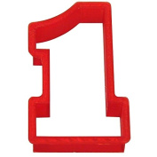 Number One Plasti-cookie Cutter 10cm Pc0101