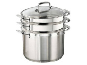 Tramontina Gourmet Tri-ply Base Stainless Steel 4-Piece 7.6l Multi-Cooker