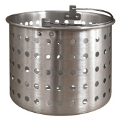 Tiger Chef 18.9l Aluminium Steamer Insert Basket for Stock Pot Steam, Boil, Fry Accessory Basket