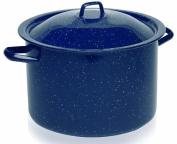 IMUSA, C20666-1063310, Enamel Stock Pot, Blue, 5.7l