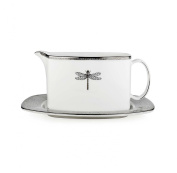 Kate Spade June Lane Sauce Boat & Stand