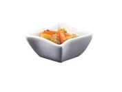 American Metalcraft SQVY1 Sqauvy Porcelain Bowl, 45ml, White