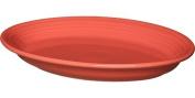 Fiesta 35cm Oval Platter, Flamingo
