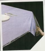 Clear Heavy Duty Vinyl Tablecloth Protector, Oval 150cm X 230cm