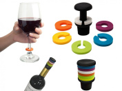Cuisinox Drink Marker and Stopper Set
