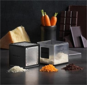 Microplane 3-in-1 Cube Grater- Black