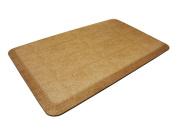 NewLife by GelPro Pebble Designer Comfort Mat, 50cm by 80cm , Caramel