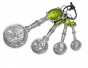 Ganz 4-Piece Measuring Spoons Set, Turtle