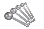 MIU France 5-Piece Measuring Spoon Set, Stainless Steel