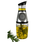 Artland Press and Measure Glass Herb with Oil Infuser, 300ml