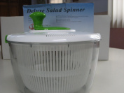 3.8l Deluxe Salad Spinner Bowl Locking Lid