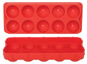 HIC Silicone Cannonball Ice Ball Mould Tray