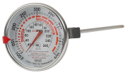 Winco 7.6cm Dial Deep Fry/Candy Thermometer with 30cm Probe