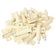 Plastic White Kitchen Cabinet Door Soft Closer Damper Buffers Pack of 20