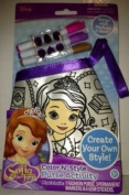 Sofia the First Colour N' Style Purse Activity for Girls to Create Their Own Style. Colour Your Own Sofia the First Purse with Colourful Permanent Markers and Design with Gem Stickers!