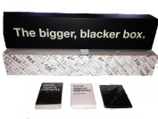 Cards Against Humanity Bigger Blacker Box Case with Box Themed Expansion Pack