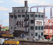 """N Scale Red Wing Milling Co. -- Kit - 6-5/8 x 4-7/8"""" 16.5 x 12cm"""