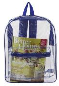 Clear PVC Backpack by Ensign Peak