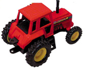 Tractor- Die Cast Metal - Pull Back and Go -