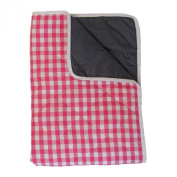 Baby Play Mat with Waterproof Backing - Cherry Pink