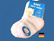 Soft Baby Socks Full Plush Material With ABS Pack of 2