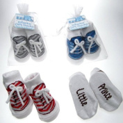 Cute sneaker gift socks by Softtouch