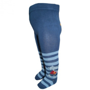 EBI & EBI - boys tights, motif, blue