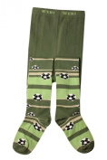 Weri Spezials Baby and Children Football+Strips Tights Olive