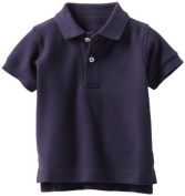 Kitestrings Baby-boys Infant Pique Solid Polo Shirt, Peacoat Navy, 24 Months Colour
